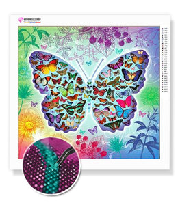 Diamond Painting Beautiful Butterfly