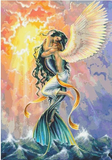 Mermaid Princess and Angel Man