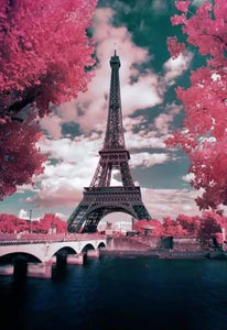 Pink Parisian Trees