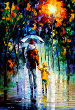 Load image into Gallery viewer, Rainy Walk With Daddy