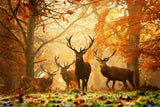 Deciduous deer