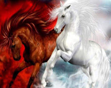 Load image into Gallery viewer, RED WHITE HORSE