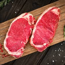 ORGANIC BC New York Steak  1 x 8 oz