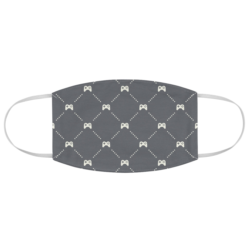 Gamer Argyle Jersey Knit Face Mask