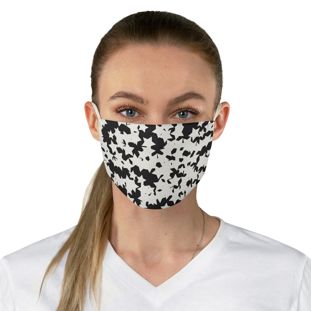 Stars Silhouette Jersey Knit Face Mask