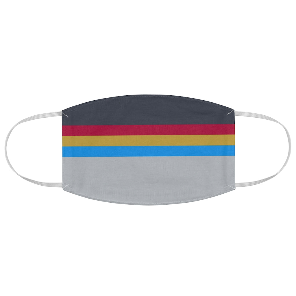 Wesley Crusher Star Trek TNG Style Jersey Knit Face Mask