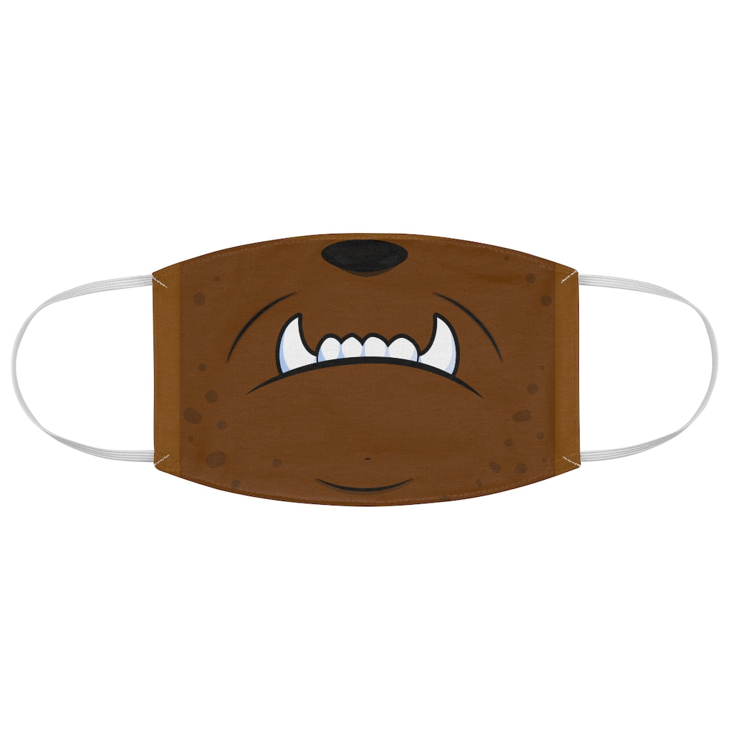 Monster Mask Jersey Knit Face Mask