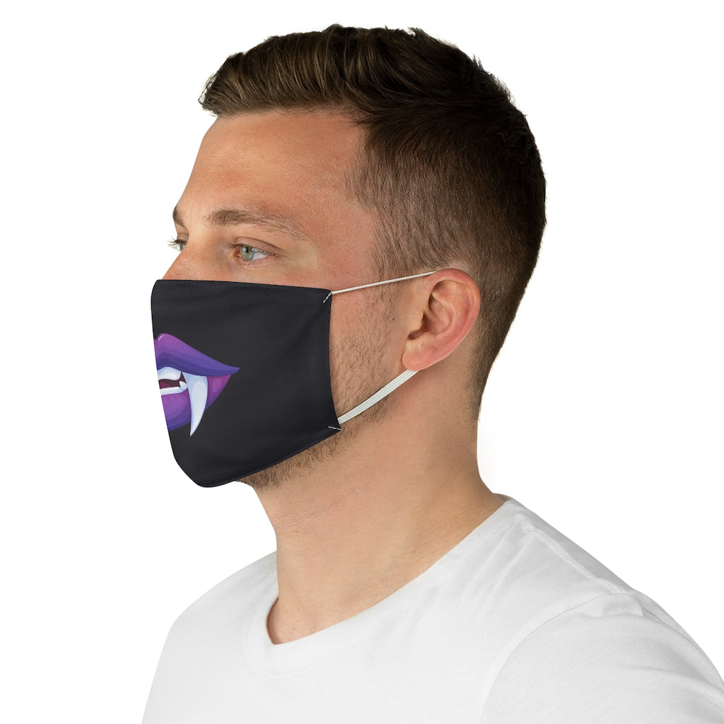 Vampire Monster Mask Jersey Knit Face Mask