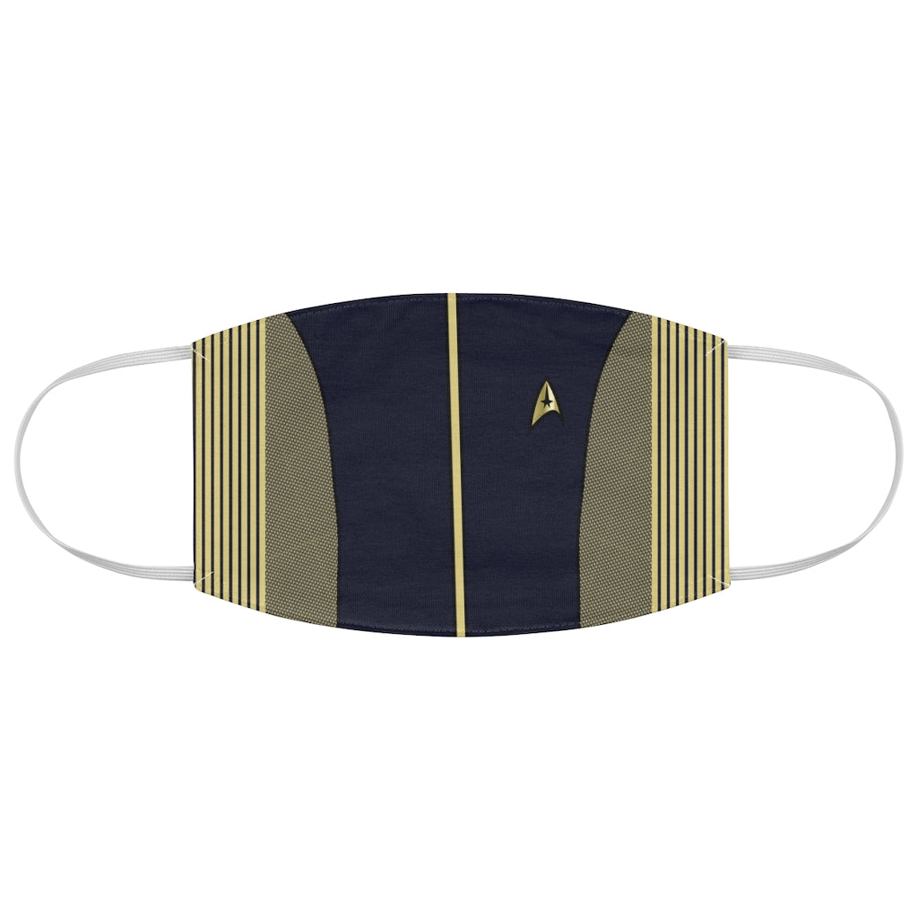 Star Trek Discovery Jersey Knit Face Mask