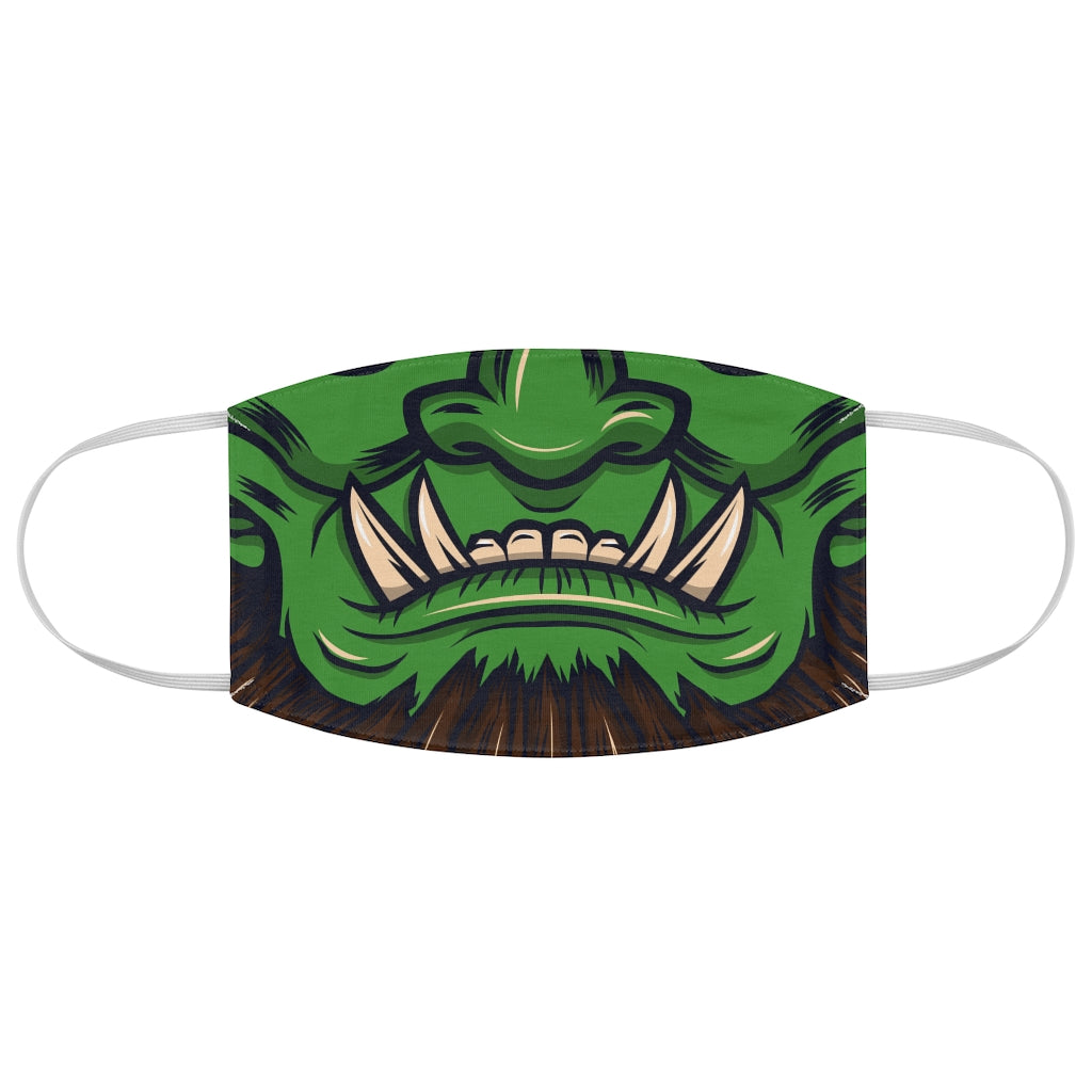 Orc Monster Mask Jersey Knit Face Mask