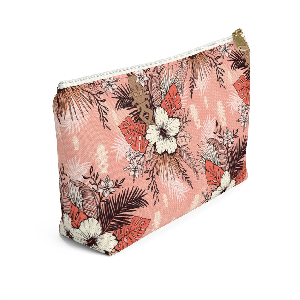 Star Trek Horg'han Tropical Floral Accessory Pouch w T-bottom