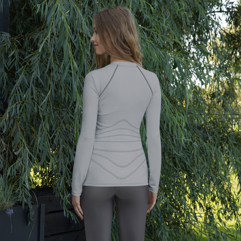 Seven of Nine Star Trek Voyager Style Rash Guard 40UPF
