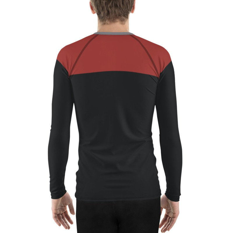 Star Trek Voyager/Deep Space 9/TNG Command Style Rash Guard 40UPF