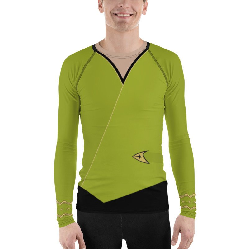 Star Trek Original Series TOS (S2) Kirk Style Rash Guard 40UPF