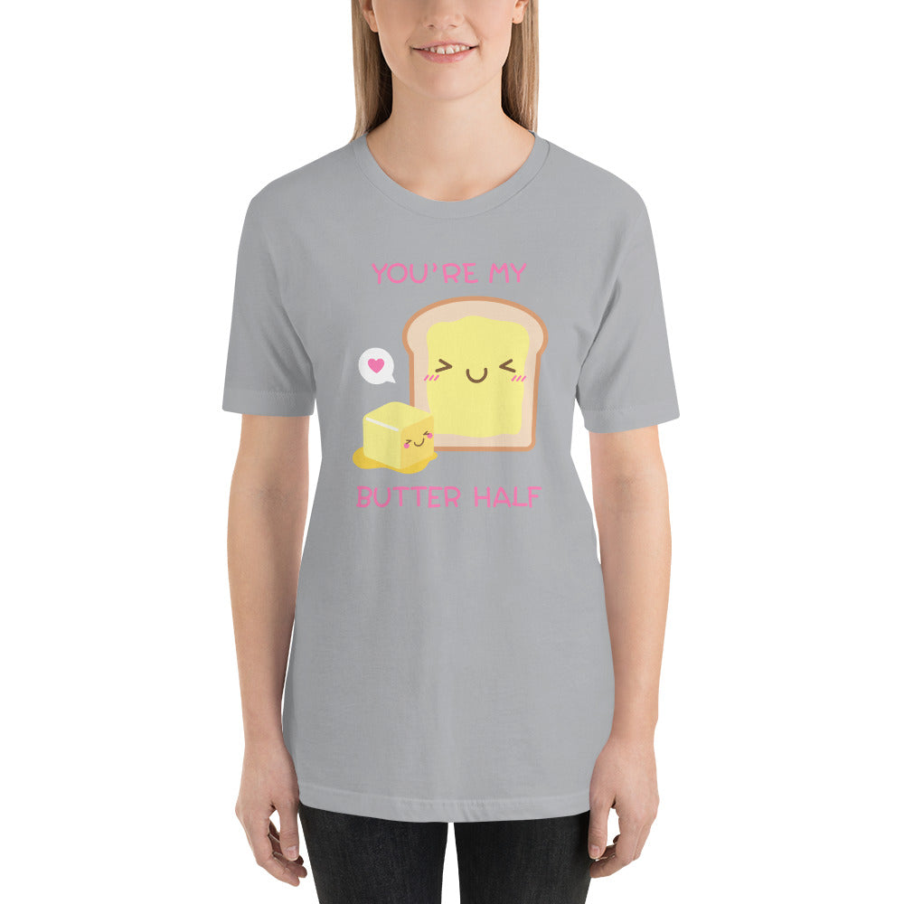 You're My Butter Half Punny Sweetheart Tee