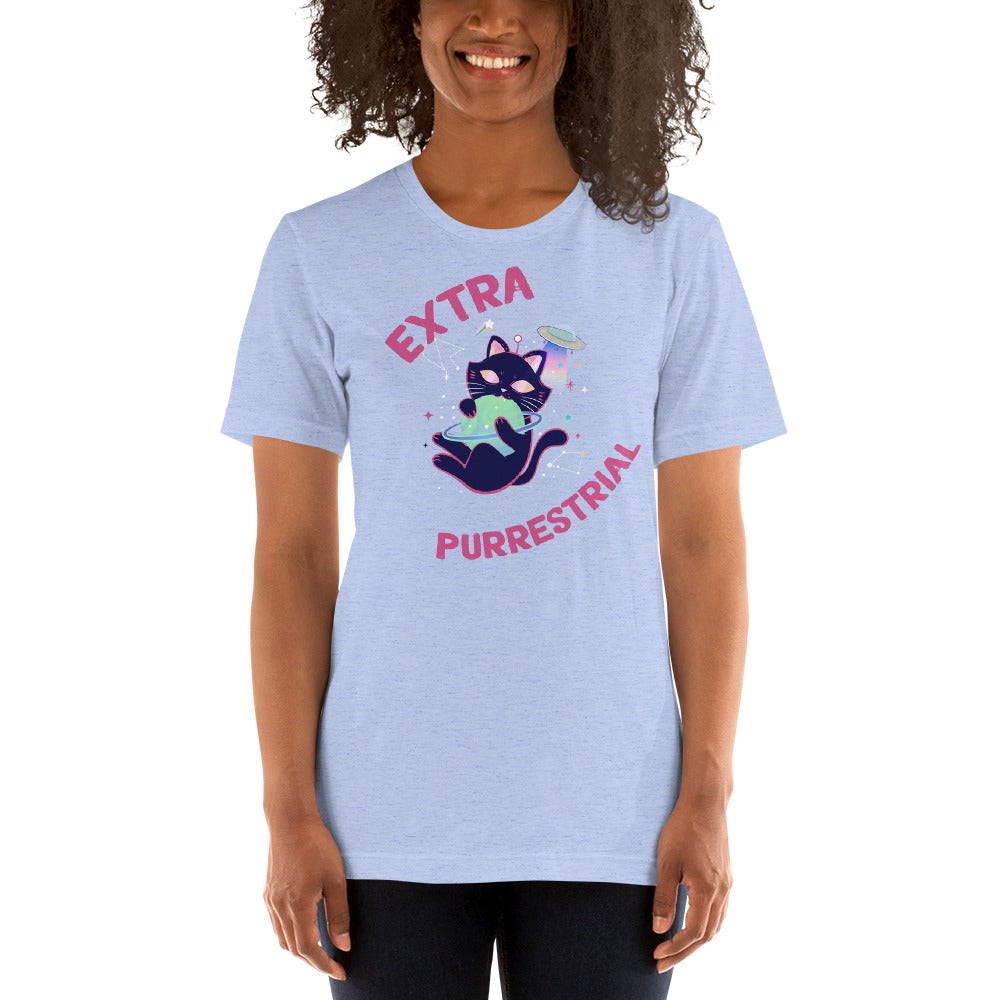 Extra-Purrestrial Space Cat Tee