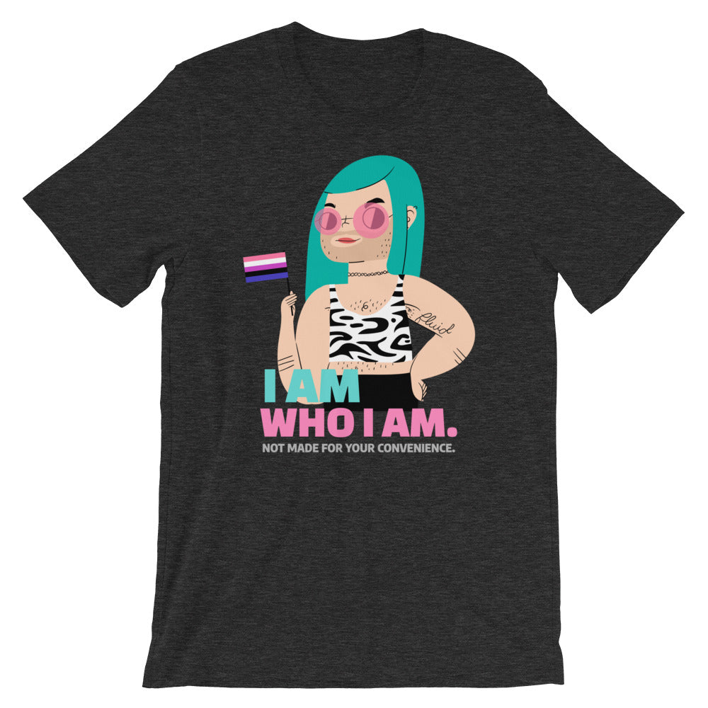 """Not For Your Convenience"" Trans Gender Fluid Pride LGBTQ+ Tee"