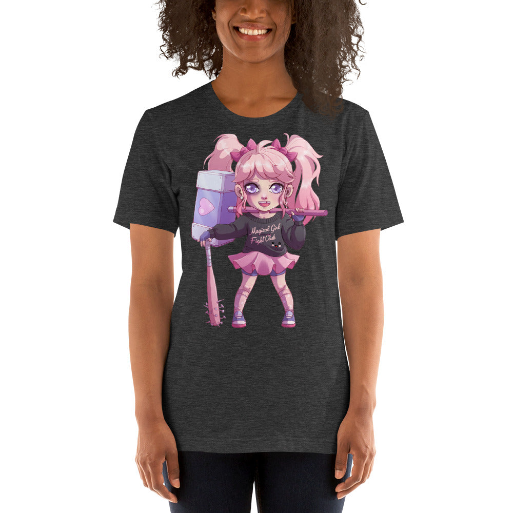 Magical Girl Fight Club Kawaii Character Tee