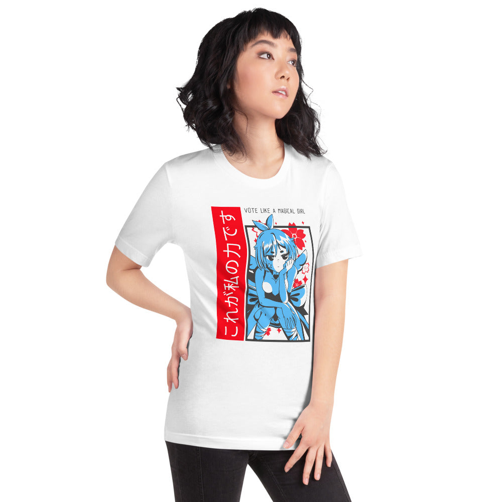 VOTE Like A Magical Girl Short-Sleeve Unisex T-Shirt