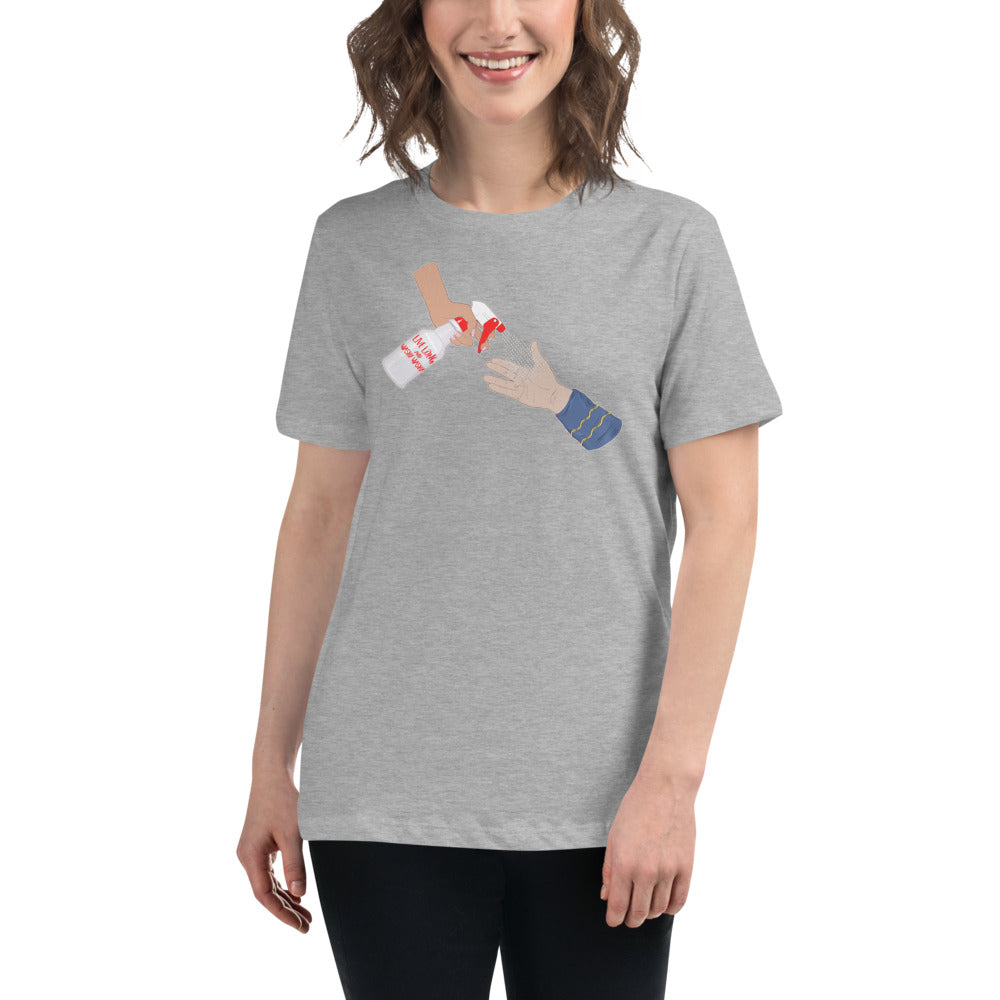 Benefits No Kid Hungry: Live Long and Washy Washy! STTC Women's Relaxed T-Shirt