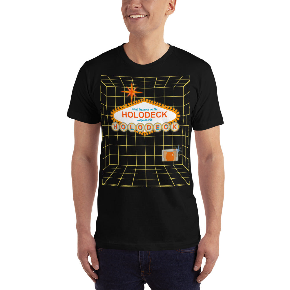 What Happens on the Holodeck, Stays on the Holodeck Tee