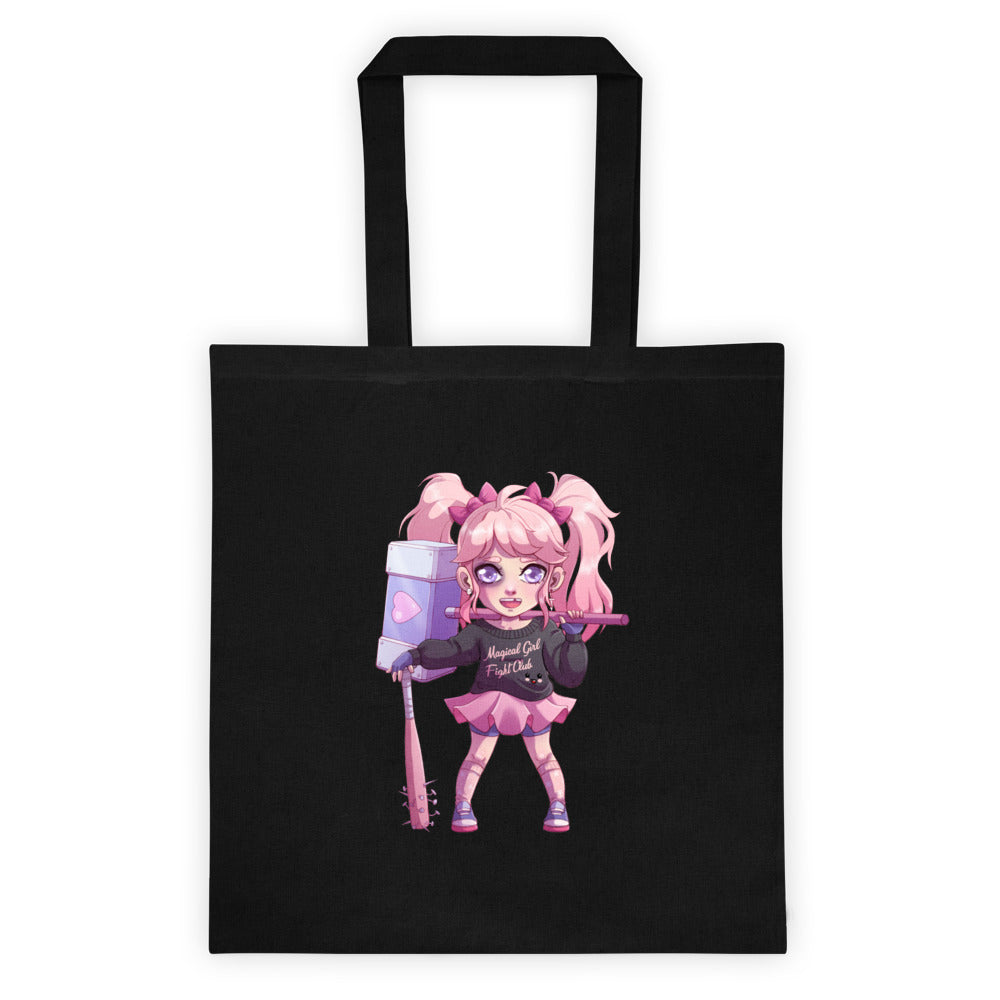 Magical Girl Fight Club Tote bag