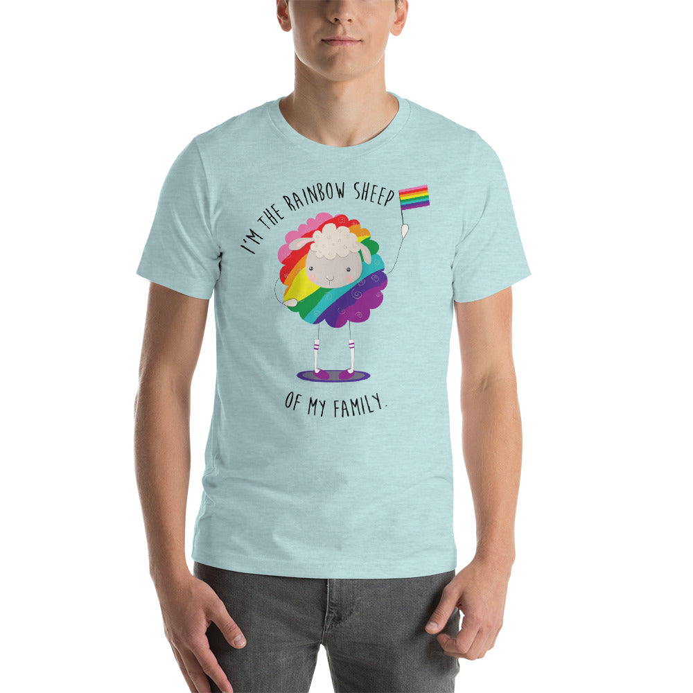 I'm the Rainbow Sheep of My Family LGBTQ+ Pride Tee