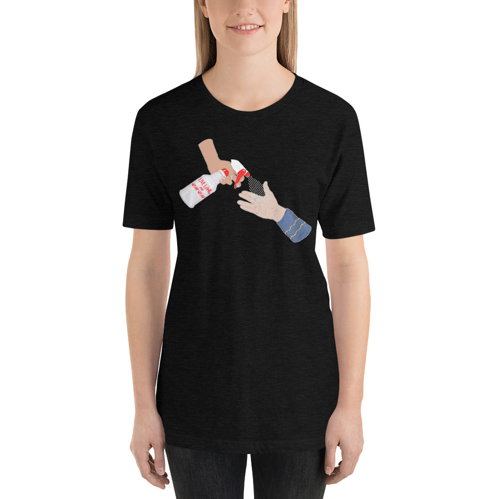 Benefits No Kid Hungry: Live Long and Washy Washy! STTC Short-Sleeve Unisex T-Shirt