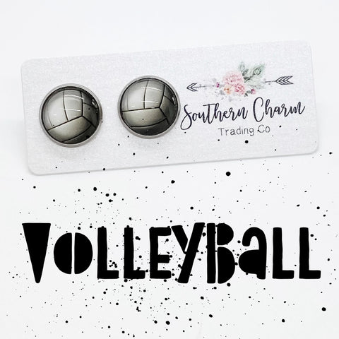 12mm Volleyballs in Stainless Steel Settings