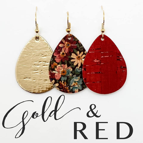Gold & Red Itty Bitty Corkie Mini Collection