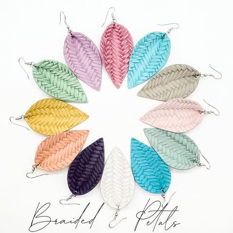"2.5"" Braided Petals (12 Colors)"