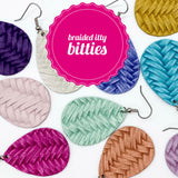 Braided Itty Bitties (11 Colors)