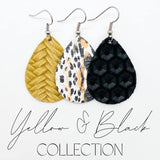 Yellow and Black Mini Collection (leather)