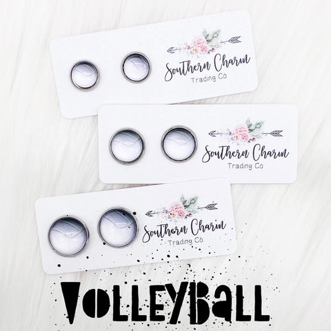 New Volleyball Singles in Stainless Steel Settings
