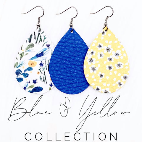 "2"" Blue & Yellow Mini Collection"