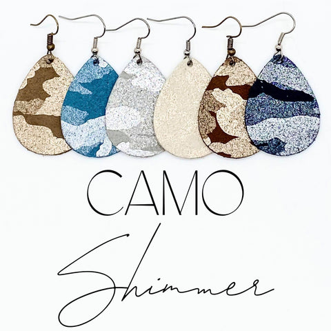 "1.5""Camo Shimmer Itty Bitty Collection"