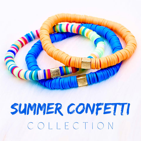 Summer Confetti Bracelet Collection