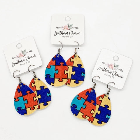 Autism Awareness Teardrops
