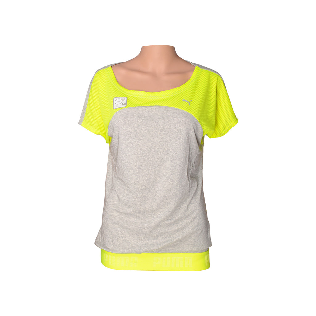Puma Safety Yellow Active Tee Women's