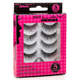 False Eyelashes Set Of 5 Pairs - Style S02 - Play Lashes