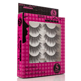 False Eyelashes Set Of 5 Pairs - Style S06 - Play Lashes