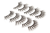 False Eyelashes Set Of 5 Pairs - Style S04 - Play Lashes