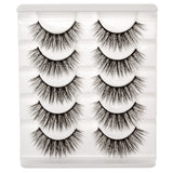 False Eyelashes Set Of 5 Pairs - Style S05 - Play Lashes