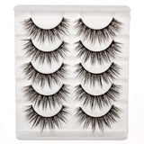False Eyelashes Set Of 5 Pairs - Style S07 - Play Lashes