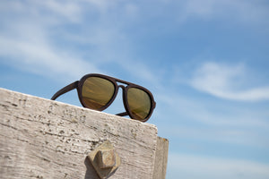 Gone Flying Gold - polar-view-sunglasses