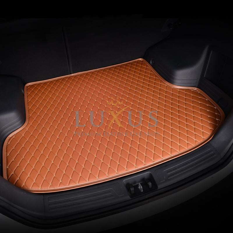 Caramel Brown Luxury Leather Boot/Trunk Mat