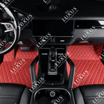Cherry Red Luxury Car Mats Set