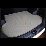 Light Grey Luxury Leather Boot/Trunk Mat