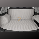 Light Grey 3D Luxury Leather Boot/Trunk Mat