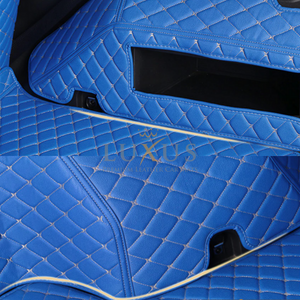 Vintage Blue 3D Luxury Leather Boot/Trunk Mat